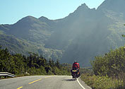 Cycling in Lofoten.
